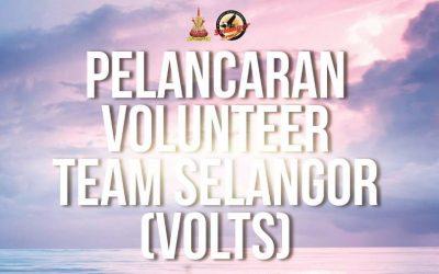 Volunteer Team Selangor Dilancarkan